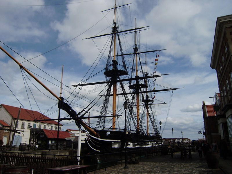 The Trincomalee at Hartlepool Maritime Experience