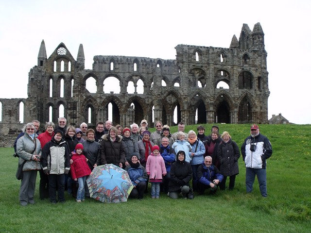 Gerlingen group at Whitby Abbey